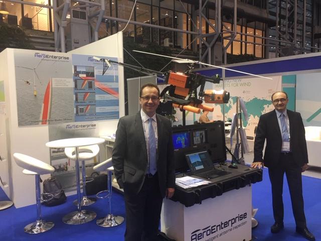 WindEurope Offshore Copenhagen Aero Enterprise exhibitor