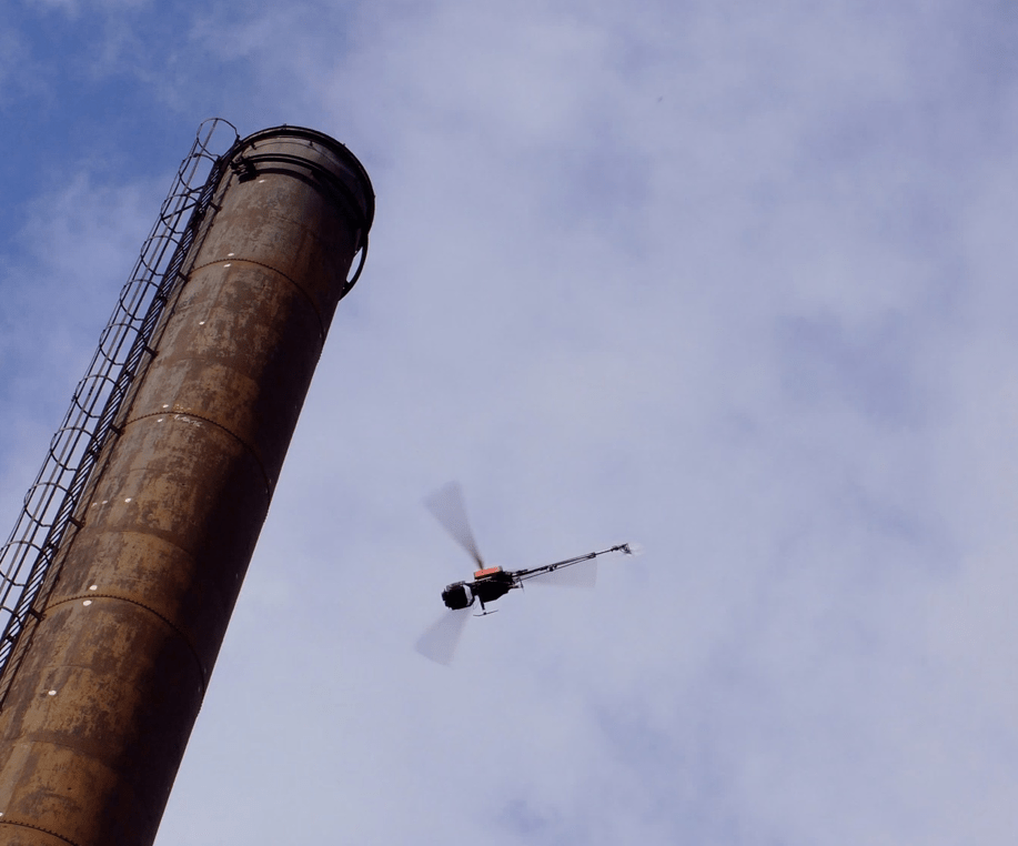 Drone Inspection Chimney