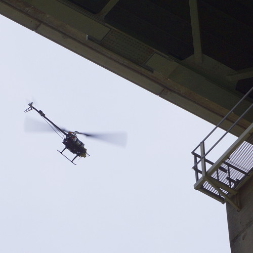 Inspektion-Brücke-SensorCopter