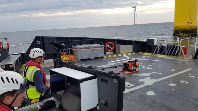 Offshore Groundstation Start Helicopter